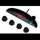 Set 4 Senzori Parcare NEGRI cu afisaj LED