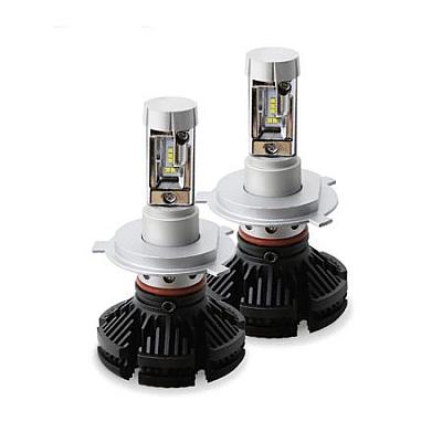 Set 2 becuri led auto X3 H4, putere 50W, 6000 lumeni