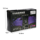 Set 4 Lumini Auto Interior A10 USB LED RGB Star Light