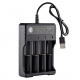 Incarcator 4 Acumulatori USB  Li-Ion 18650
