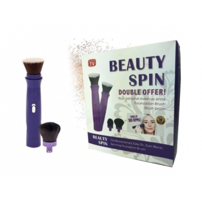 Set pensula electrica rotativa Beauty Spin pentru makeup