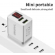 Incarcator Fast Charger 5V cu 2 porturi USB si Display Inteligent