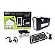 Kit solar GD-Lite 10 este dotat cu dispozitive USB cu 3 becuri si leduri.