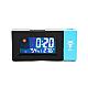 Ceas Meteo BLUE cu Proiectie LED Rosie Alarma si Temperatura